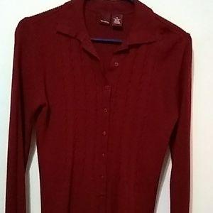 Make offer Burgandy Sweater